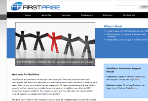 Firstprise - SAP consulting, complete web design, logo consultation, SEO